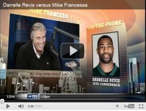Darrelle Revis vs Mike Francessa