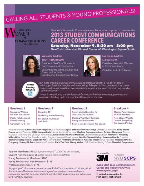 Student Communication Career Conference